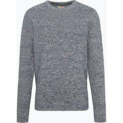 Selected - Sweter męski, niebieski. Niebieskie swetry klasyczne męskie marki bonprix, m, z nadrukiem, z klasycznym kołnierzykiem, z długim rękawem. Za 179,95 zł.