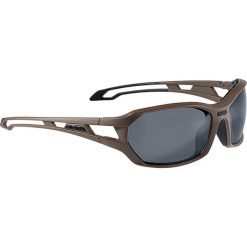 """Okulary przeciwsłoneczne """"Berryn"""" w kolorze brązowo-granatowym. Brązowe okulary przeciwsłoneczne damskie marki Triwa, z tworzywa sztucznego. W wyprzedaży za 152,95 zł."""