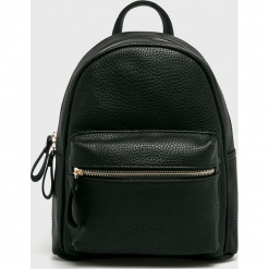 Answear - Plecak Animal me. Czarne plecaki damskie ANSWEAR, z materiału. Za 129,90 zł.