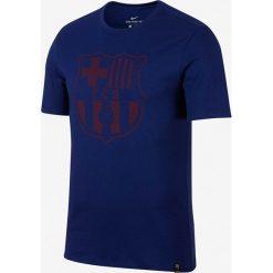 Nike Koszulka FCB M NK Crest niebieska r. L (857243 410). Niebieskie koszulki sportowe męskie marki Nike, l. Za 79,00 zł.