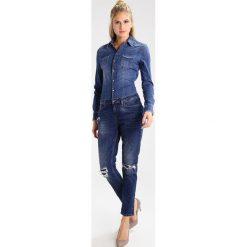 Liu Jo Jeans Kombinezon denim blue. Niebieskie jeansy damskie marki Liu Jo Jeans, z bawełny. W wyprzedaży za 935,20 zł.