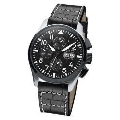 ZEGAREK EPOS Sportive 3433.228.35.35.24. Czarne zegarki męskie EPOS, ze stali. Za 10600,00 zł.