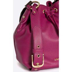 Liu Jo - Torebka. Czerwone torebki klasyczne damskie Liu Jo, w paski, z materiału. W wyprzedaży za 339,90 zł.
