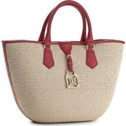 Torebka PATRIZIA PEPE - 2V6929/A296-X1VC Natural/Red. Czarne torby plażowe marki Patrizia Pepe, ze skóry. W wyprzedaży za 639,00 zł.