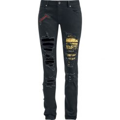 Metallica EMP Signature Collection Jeansy damskie czarny. Czarne boyfriendy damskie Metallica. Za 164,90 zł.