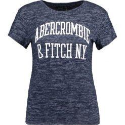 T-shirty damskie: Abercrombie & Fitch COZY LOGO TEE Tshirt z nadrukiem navy