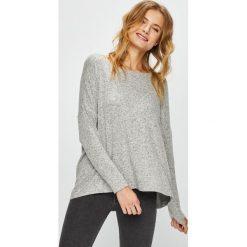 Only - Sweter. Szare swetry klasyczne damskie ONLY, s, z dzianiny, z okrągłym kołnierzem. Za 89,90 zł.