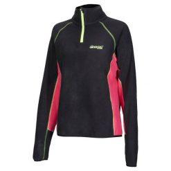 Bluzy rozpinane damskie: BERG OUTDOOR Bluza damska Three-pro Sweat czarno-różowa r. XL (HK3220501)