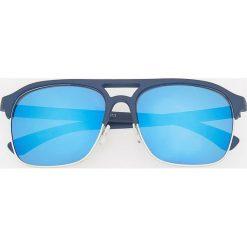Okulary przeciwsłoneczne - Granatowy. Niebieskie okulary przeciwsłoneczne męskie wayfarery Reserved. Za 49,99 zł.
