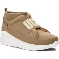 Sneakersy UGG - W Neutra Sneaker 1095097 W/Alp. Szare sneakersy damskie marki Ugg, z materiału, z okrągłym noskiem. Za 519,00 zł.