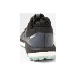 Adidas Performance TERREX AGRAVIC W Obuwie hikingowe core black/grey heather/ash green. Brązowe buty sportowe damskie marki adidas Performance, z gumy. Za 549,00 zł.