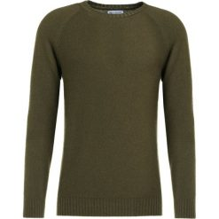 Swetry klasyczne męskie: Johnstons Cashmere Sweter camouflage