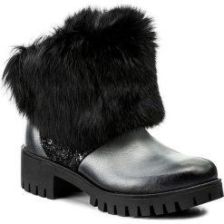 Botki EVA MINGE - Eloisa 2C 17MJ1372189EF 609. Czarne buty zimowe damskie Eva Minge, ze skóry. W wyprzedaży za 289,00 zł.