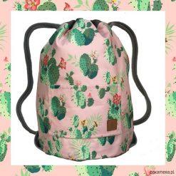 CACTUS & PINK dwustronny plecak SACK IT!. Różowe plecaki męskie marki Pakamera. Za 165,00 zł.