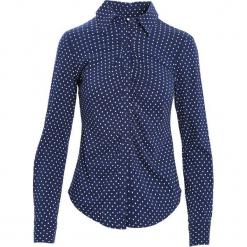 Granatowa Koszula No Chance. Czarne koszule damskie Born2be, s, w grochy, z materiału. Za 54,99 zł.