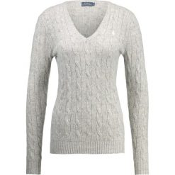 Swetry klasyczne damskie: Polo Ralph Lauren KIMBERLY  Sweter light vintage heather