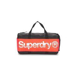 Torby sportowe Superdry  MONTANA BARREL. Czarne torby podróżne Superdry. Za 215,20 zł.