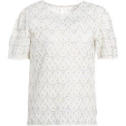T-shirty damskie: Intropia Tshirt basic weiß