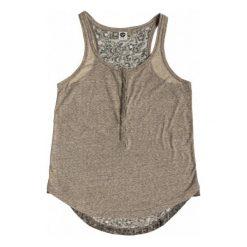 Roxy Koszulka Na Ramiączkach Stone Steps Military Olive S. Białe bluzki sportowe damskie marki Roxy, l, z nadrukiem, z materiału. W wyprzedaży za 109,00 zł.