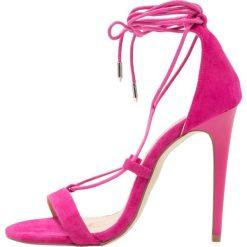 Rzymianki damskie: Chinese Laundry JAMBI Sandały na obcasie pink