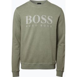 Bejsbolówki męskie: BOSS Casual - Męska bluza nierozpinana – Wallker, zielony