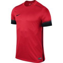 Nike Koszulka męska SS Laser PR III czerwona r. M (725890 657). Białe koszulki sportowe męskie marki Adidas, l, z jersey, do piłki nożnej. Za 170,00 zł.