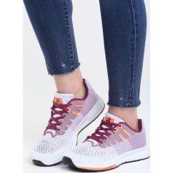 Fioletowe Buty Sportowe No Compromise. Fioletowe buty sportowe damskie marki NEWFEEL, z poliesteru, do biegania. Za 99,99 zł.