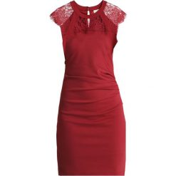 Kaffe TANJA INDIA DRESS Sukienka etui sundried tomato. Czerwone sukienki Kaffe, xxl, z dżerseju, oversize. Za 379,00 zł.