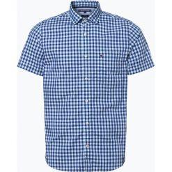Tommy Hilfiger - Koszula męska, niebieski. Czarne koszule męskie na spinki marki TOM TAILOR DENIM, l, z bawełny, button down, z długim rękawem. Za 229,95 zł.