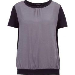 Bluzki asymetryczne: Sisley Bluzka grey combo
