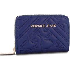 Duży Portfel Damski VERSACE JEANS - E3VSBPZ2 70792 239. Niebieskie portfele damskie Versace Jeans, z jeansu. Za 349,00 zł.