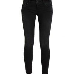 LTB MINA Jeansy Slim Fit misty black. Czarne jeansy damskie marki LTB. W wyprzedaży za 239,20 zł.