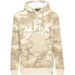 Bejsbolówki męskie: Alpha Industries FOAM PRINT HOODY Bluza z kapturem desert camo