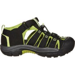 Keen NEWPORT Sandały trekkingowe black/lime green. Czarne sandały chłopięce Keen, z materiału. Za 239,00 zł.