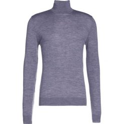 Swetry klasyczne męskie: Bruuns Bazaar CHARLES Sweter mid grey melange