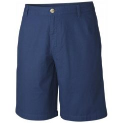Columbia Spodenki Bonehead Short Carbon 36. Niebieskie spodenki sportowe męskie Columbia, z bawełny, sportowe. W wyprzedaży za 119,00 zł.