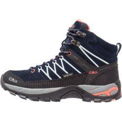 CMP RIGEL MID SHOES WP Buty trekkingowe blue/giada/peach. Niebieskie buty trekkingowe damskie CMP. Za 439,00 zł.