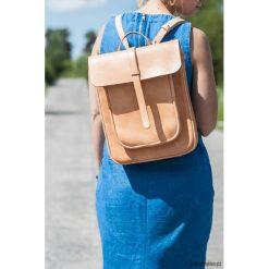 Skórzana torba na ramię / plecak. Szare plecaki męskie Pakamera. Za 700,00 zł.
