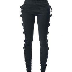 Gothicana by EMP Built For Comfort Legginsy czarny. Czarne legginsy we wzory Gothicana by EMP, xl. Za 121,90 zł.