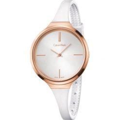 ZEGAREK CALVIN KLEIN LIVELY K4U236K6. Szare zegarki damskie marki Calvin Klein, szklane. Za 889,00 zł.