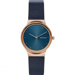 Zegarki damskie: Zegarek SKAGEN – Freja SKW2706 Blue/Rose Gold