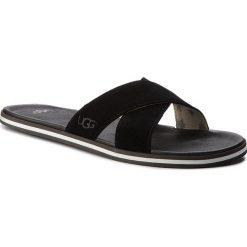 Chodaki męskie: Klapki UGG - M Beach Slide 1020086 M/Blk