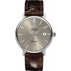 Biżuteria i zegarki męskie: Zegarek Atlantic Męski Seacrest 50354.41.41 Szafirowe szkło