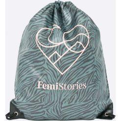 Femi Stories - Plecak Maile. Szare plecaki damskie Femi Stories, z poliesteru. W wyprzedaży za 59,90 zł.
