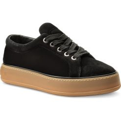 Sneakersy MAXMARA - MM84 452115896 Nero 004. Czarne sneakersy damskie MaxMara, z materiału. W wyprzedaży za 699,00 zł.