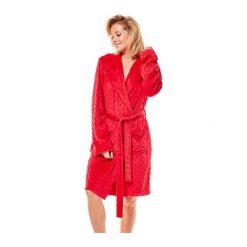 Szlafrok Mimi 36162-33X Czerwony. Czerwone szlafroki kimona damskie Henderson Ladies, z polaru. Za 145,90 zł.