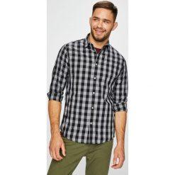Jack & Jones - Koszula. Szare koszule męskie na spinki Jack & Jones, l, w kratkę, z bawełny, z klasycznym kołnierzykiem, z długim rękawem. W wyprzedaży za 99,90 zł.