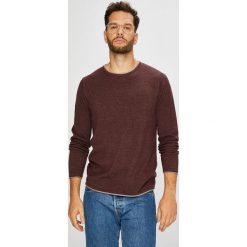 Selected - Sweter. Czarne swetry klasyczne męskie marki Selected, m, z bawełny, z okrągłym kołnierzem. W wyprzedaży za 99,90 zł.