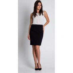 Spódnice wieczorowe: Czarna spódnica z podszewką BIALCON