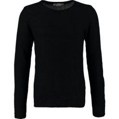 Swetry klasyczne męskie: Solid JARAH Sweter schwarz